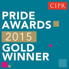 2015 Gold Winner Button