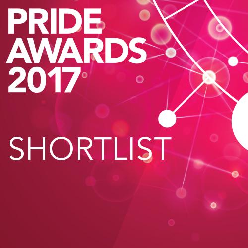 PRide Award shortlist button